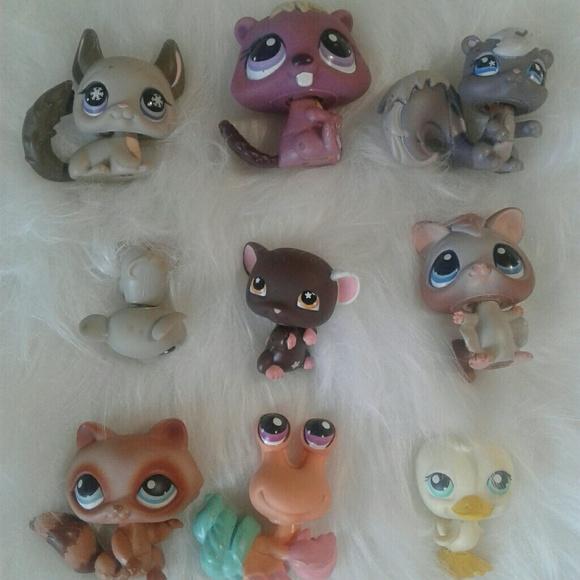 Hasbro Other - Littlest Pet Shop lot4